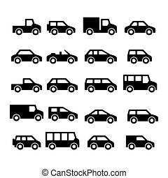 Cars icons