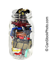 Cars in a Jar