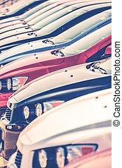 Cars in Dealer Stock