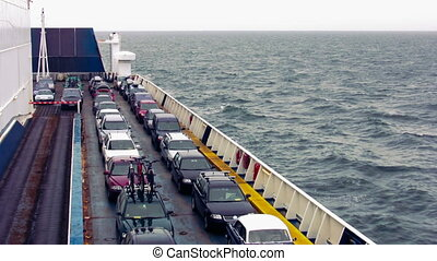 Cars On The Ferry 1