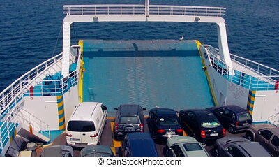 Cars On The Ferry 3