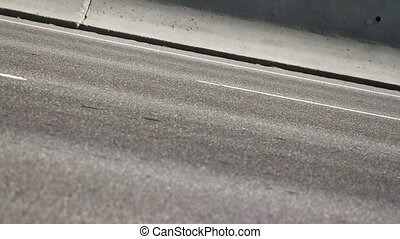 cars on the highway