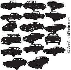 Cars Packages - illustration of cars packages collection