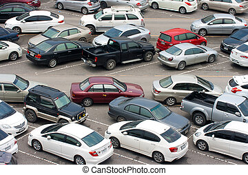 Cars park