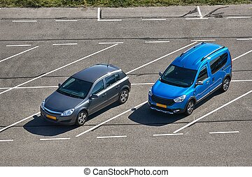 Cars Parking Outoors