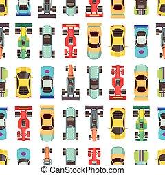 Cars seamless racing