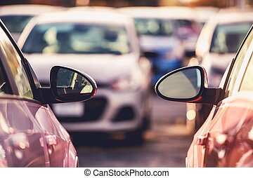 Cars Side by Side Parking
