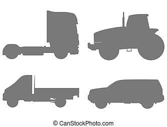Cars silhouettes