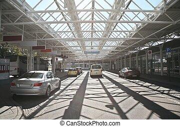 cars station