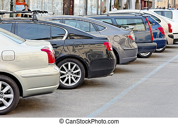 Cars that park in a parking lot - bad response status: 404