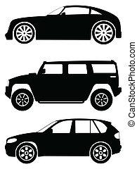cars vector set