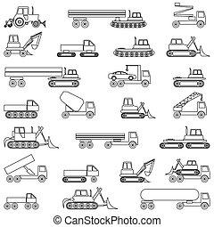 Cars, vehicles. Car body.