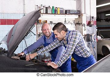carshop, gens fonctionnement