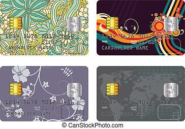 cartão crédito, pacote