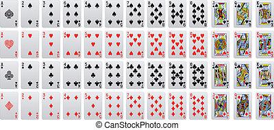cartão jogando