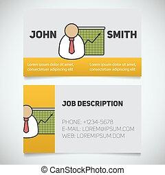 cartão, logotipo, apresentação, gráfico, modelo, impressão, ...