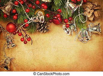 cartão natal, retro