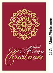 cartão natal, saudações