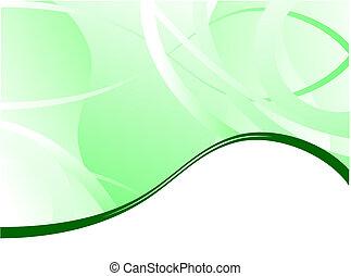 cartão negócio, cobertura, vetorial, experiência verde, folheto, apresentação, ou