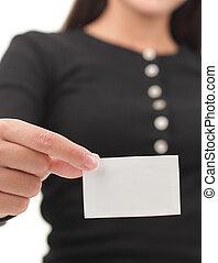cartão, negócio