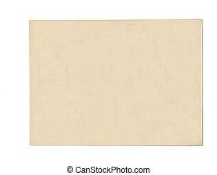 cartão postal, antigas, em branco