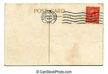 cartão postal, vindima