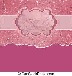 cartão valentine, com, cópia, space., eps, 8