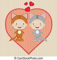 cartão valentine