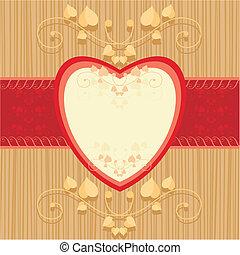 cartão, valentine