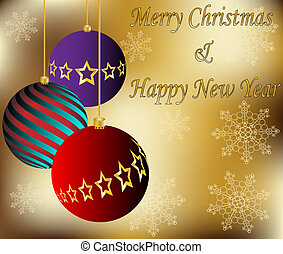 cartão, vetorial, natal, fundo