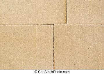 cartón, plano de fondo