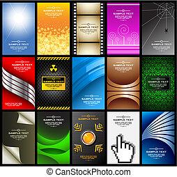 cartões, 10), (set, negócio