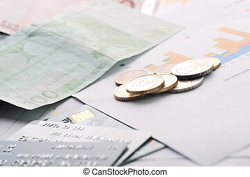 cartões crédito, e, dinheiro