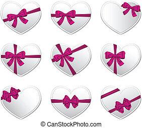 cartões, dia, presente, valentine