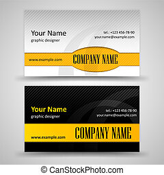 cartões, jogo, negócio