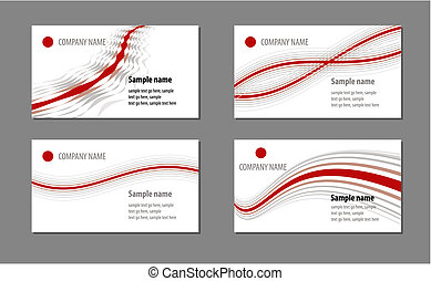cartões, modelos, negócio