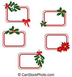 cartões, natal