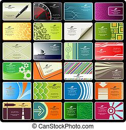 cartões negócio, (set, 8)