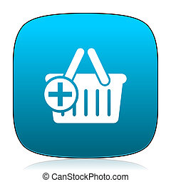 cart blue icon