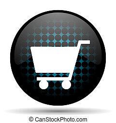 cart icon shop sign