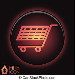 cart online store, Internet shop. basket shopping