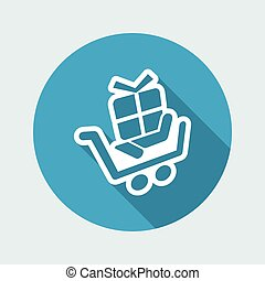 Cart store icon