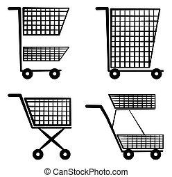 Cart Symbol Set Collection