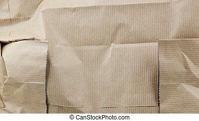 carta da pacchi, increspato
