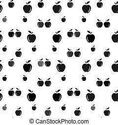 carta, design., regalo, arte, coperchio, mela, d, fondo.,...
