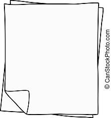 carta, disegno, quaderno