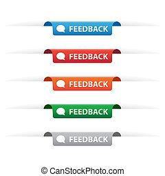 carta, etichette, etichetta, feedback