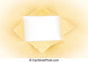 carta lacerata