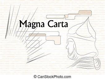carta, magna
