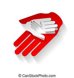 carta, mani